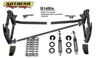 68-82 Corvette Solid Rear Axle Conversion Kit (C3 4-Link) Coilover Kit