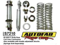Bolt on Rear Coilover Conversion Kit 82-03 F-Body Camaro/ Firebird